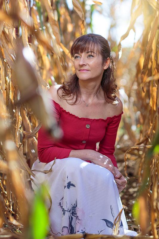 Photo de book de mannequin senior : Isabel D