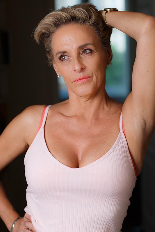 Photo mannequin senior : Carole L