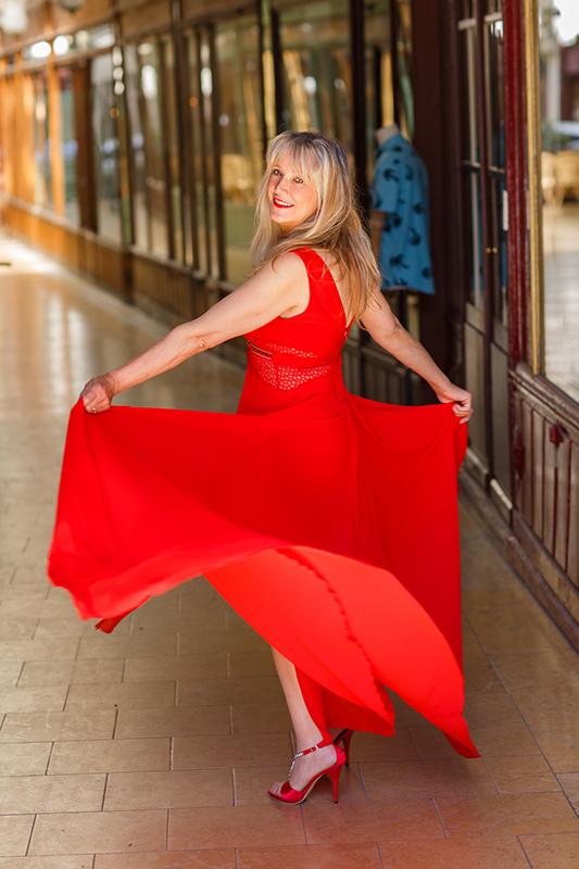 Photo mannequin senior : Rosine B